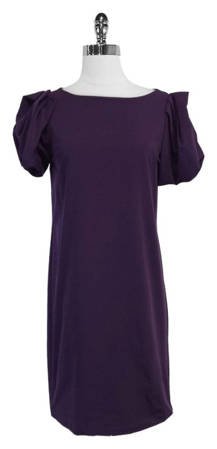 Diane von Furstenberg Puff Sleeve Shift Dress