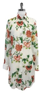 Dolce&Gabbana short dress Floral Print Cotton Shirt on Tradesy