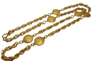 Chanel CHANEL RARE VINTAGE GOLD PLATED RUE CAMBON PARIS NECKLACE