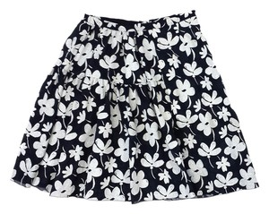 Marni Floral Print Flared Skirt