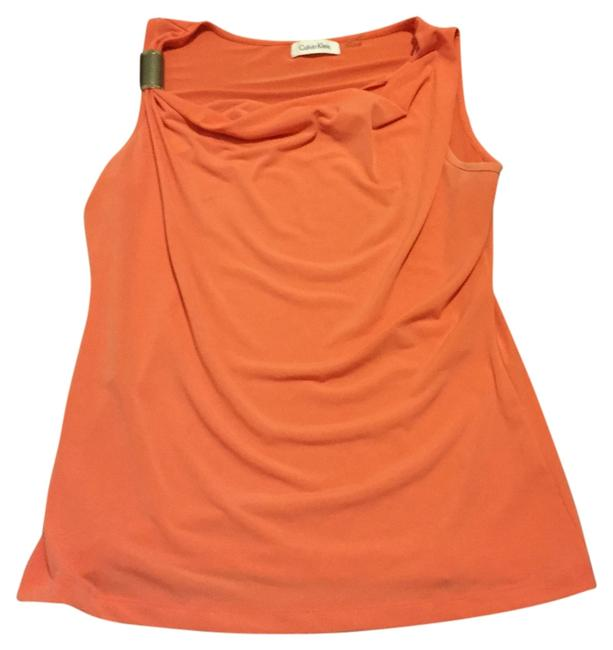 Calvin Klein Top Orange