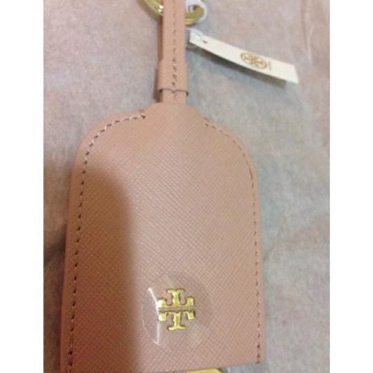 Tory Burch New with Tag Indian Rose Leather Bottle Opener Key Fob