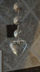 Other 75-6 Inch Glass Heart Custom Listing For Shaneka Reception Decoration