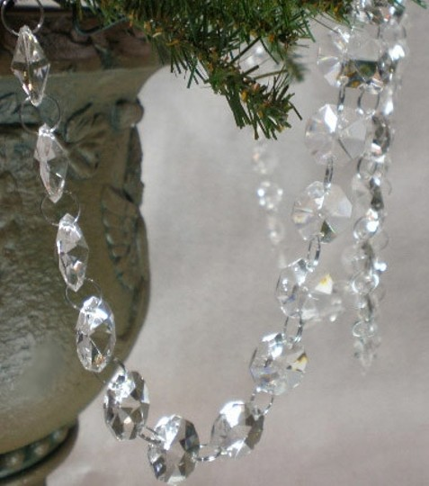 Other 25 Ft Crystal Garland (Glass)