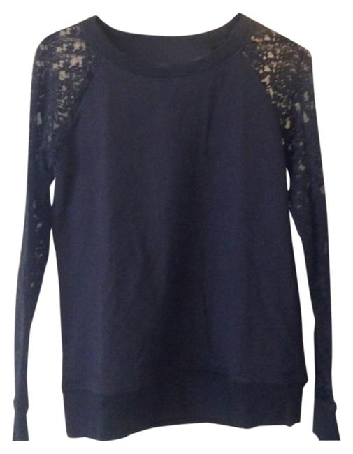 Preload https://item1.tradesy.com/images/boston-proper-black-lace-sleeve-sweatshirthoodie-size-4-s-5004880-0-4.jpg?width=400&height=650