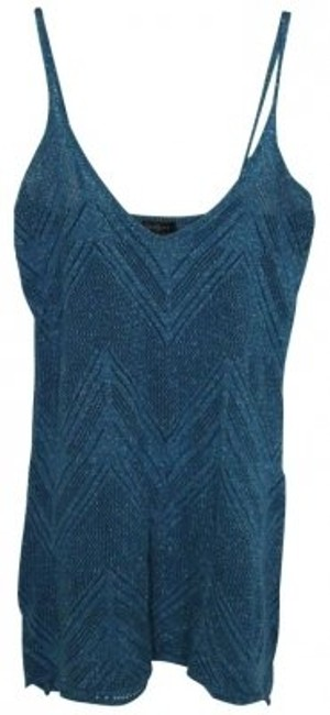 Forever 21 Top Sparkly Blue