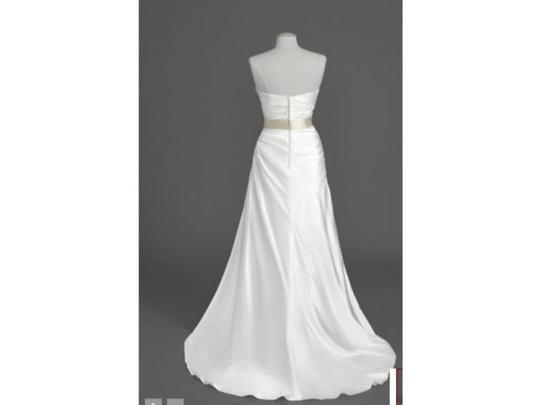 David's Bridal Ivory Other Wg3026 Traditional Wedding Dress Size 8 (M)