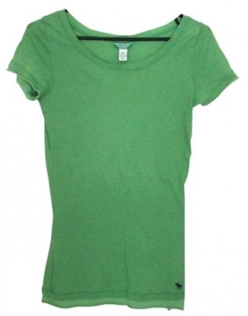 Preload https://img-static.tradesy.com/item/5006/abercrombie-and-fitch-green-tee-shirt-size-4-s-0-0-650-650.jpg