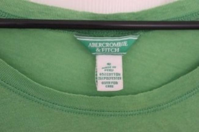 Abercrombie & Fitch T Shirt Green