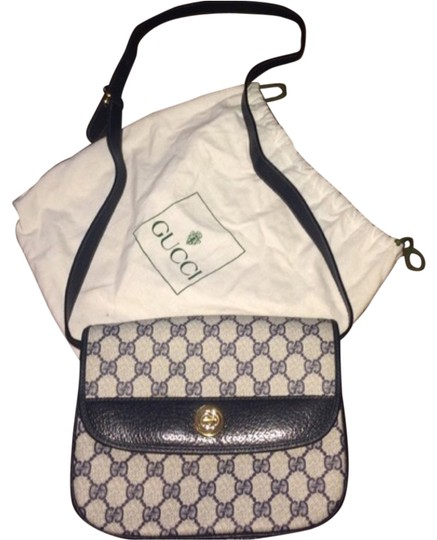 Preload https://item1.tradesy.com/images/gucci-navy-blue-monogram-canvas-and-leather-cross-body-bag-5013865-0-0.jpg?width=440&height=440