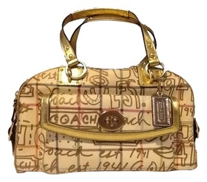 Coach Satchel in Graffetti