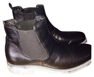 Aldo Mens Black and grey Boots
