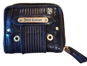 Juicy Couture Juicy Coururw black wallet