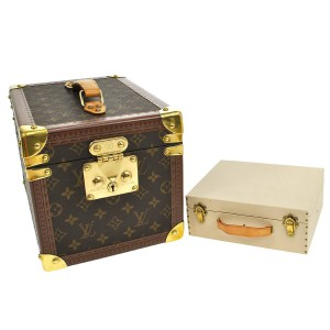 Louis Vuitton Louis Vuitton Boite Flacons Beauty Trunk Train Case