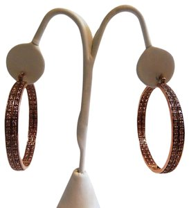 Real Collectibles by Adrienne Real Collectibles by Adrienne Large Pierce Hoop Earrings