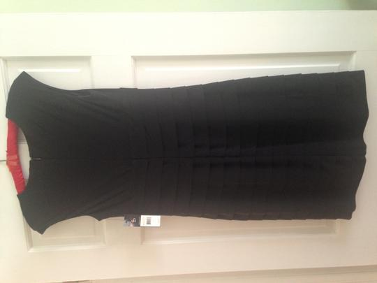 American Living Black Polyester You Won't Feel Like You Have Anything On Sexy Bridesmaid/Mob Dress Size 4 (S)