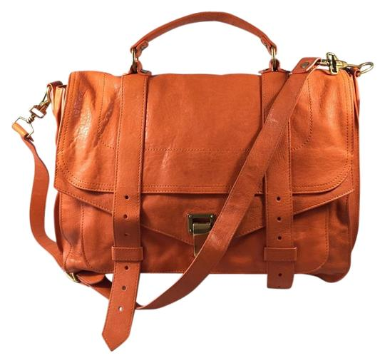 Proenza Schouler Orange Messenger Bag