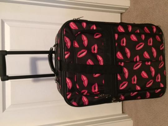 Other Black/Bright Pink Travel Bag