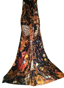 Roberto Cavalli Sexy Silk Halter Dress