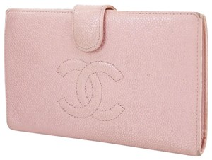 Chanel CHANEL CC Logos Quilted long wallet