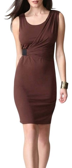 Item - Brown Cocoa Nessa Mid-length Cocktail Dress Size 2 (XS)