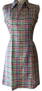 Requisite short dress Plaid Hand Tailored on Tradesy
