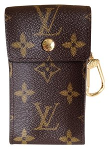 Louis Vuitton Louis Vuitton Monogram Porte Cles Key Case Pouch Cash Coin Holder