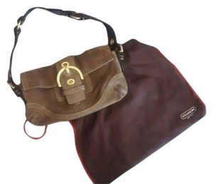 Coach Soho Suede Leather Shoulder Bag