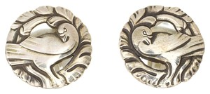 Georg Jensen Georg Jensen Sterling Silver Dove Earrings No. 66