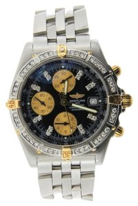Breitling Men's Two Tone Breitling Crosswind