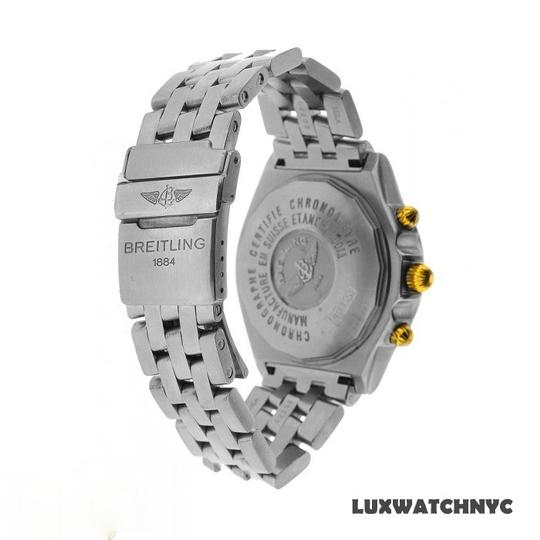 Breitling 1.25CT BREITLING CROSSWIND GOLD & STAINLESS STEEL WATCH WITH APPRAISAL