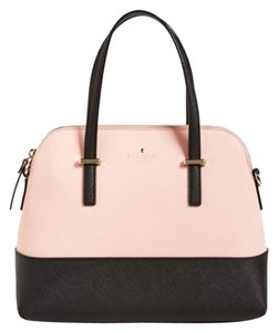 Kate Spade Rosette Black Satchel in Rosette/black