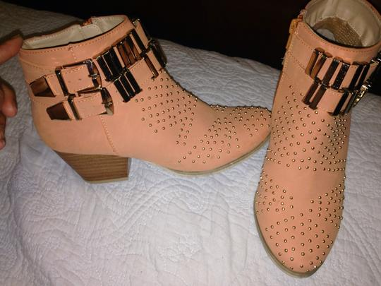 Forever 21 Peach Boots