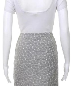 Michael Kors Mini Floral Mini Skirt gray