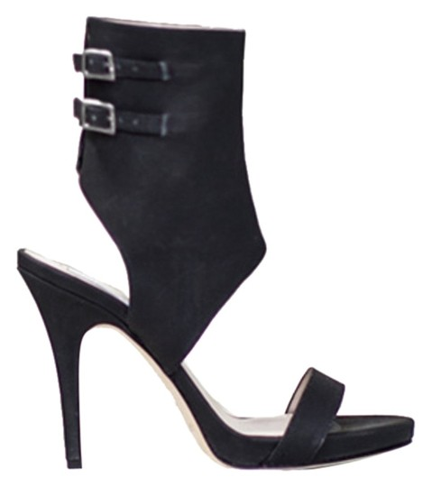 Other Sandal Versatile Sexy Black Leather Boots
