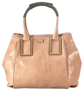 Chloé Chloe Ethel Tote Leather Chloe Handbag Chloe Chloe Tote Satchel in Camel
