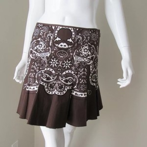 Elie Tahari Tahari Mini Mini Mini Skirt BROWN