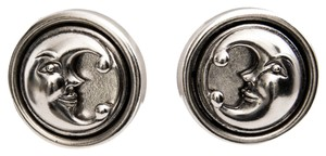 Barry Kieselstein-Cord Barry Kieselstein Cord Sterling Silver Moon Earrings
