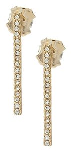Anna & Ava Anna & Ava Delicate Pave Stick Stud Earrings Statement Earrings