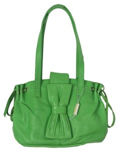 Versace Couture Small Tote in Summer Green