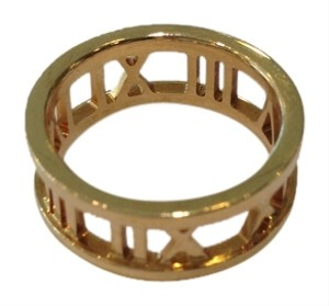 Tiffany & Co. Tiffany & Co 18k gold Atlas open ring