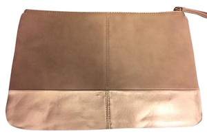 ALDO Taupe/Gold Clutch