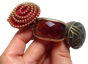 Target Set Of 3 Gold Tone Costume Jewelry Rings