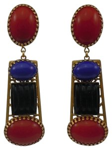 Askew London Askew London Multi Stone Drop Earrings