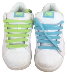 Nike White, green, blue Athletic