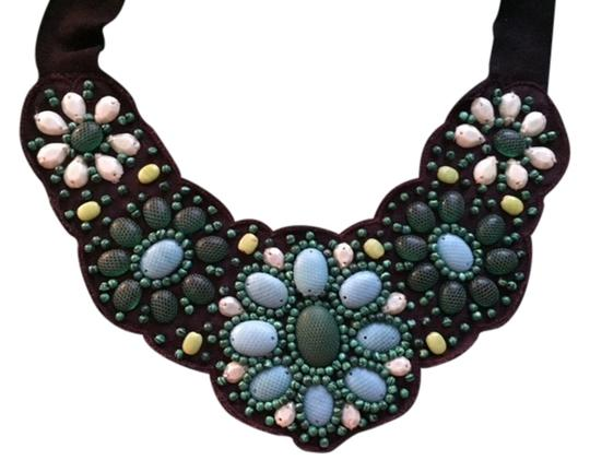 Preload https://item5.tradesy.com/images/stella-and-dot-greenbrown-cortez-bib-necklace-5023789-0-0.jpg?width=440&height=440