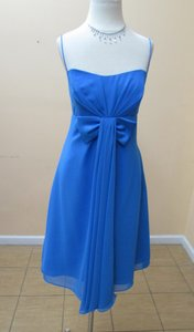 Alfred Angelo Marine Blue 7137 Dress