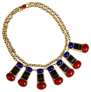 Askew London Askew London Multi Stone Collar Necklace