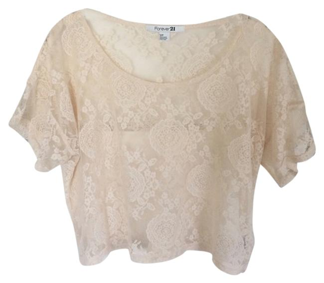Preload https://item4.tradesy.com/images/forever-21-lace-top-5023993-0-0.jpg?width=400&height=650