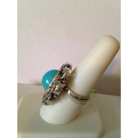 Other Embellished by Leecia Blue Topaz & Turquoise Ring